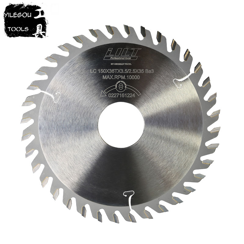 150mm TCT Slotted Saw Blades 6 Inchs TCT Grooving Saw Blades 36 Teeth Milling Cutter For Wood Thickness 3.0 To 6.0mm, Bore 30mm