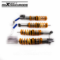 For VW Rabbit Golf MK1 Cabriolet 84 09 Coilover Suspension Struts Shock Absorber Lowering Kit