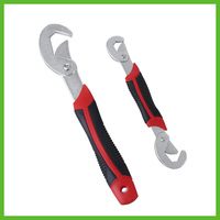 SAT0373 Portable Adjustable Quick Spanner Handle Key Multifunctional Universal Wrench Set Tool Quickly Crane Hook Type