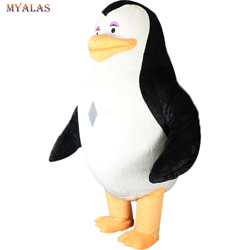 Penguin Inflatable Mascot Costume For Adult Anime Cosplay Kits Mascotte Carnival Costumes Animal Penguin Mascot Costumes