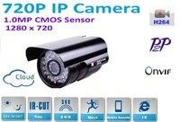 New Type1280 720P H 264 1 0 Megapixel HD ONVIF 2 0 IP Camera P2P Outdoor