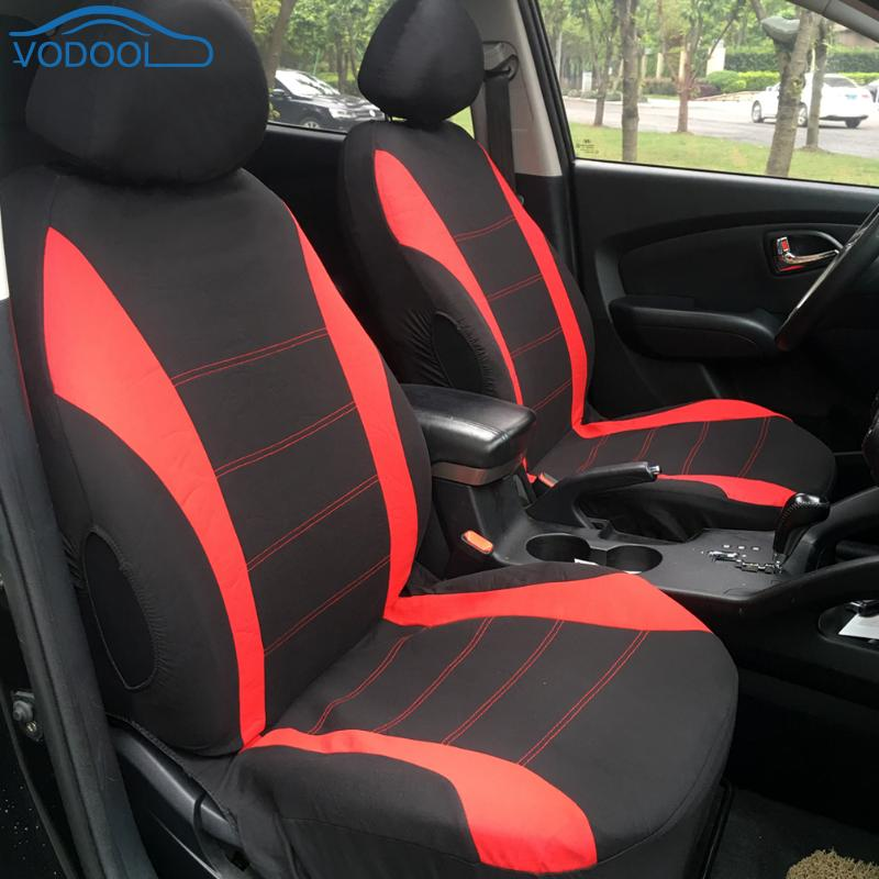 9pcs Full Set Car Seat Cover Set with Front Seat Back Seat Head Rest Covers Car Accessaries Universal Fit Most Cars Covers