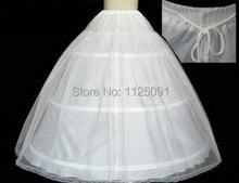 Свадебного хооп кринолин наличии кость бальное скольжения юбки юбка свадебные полный