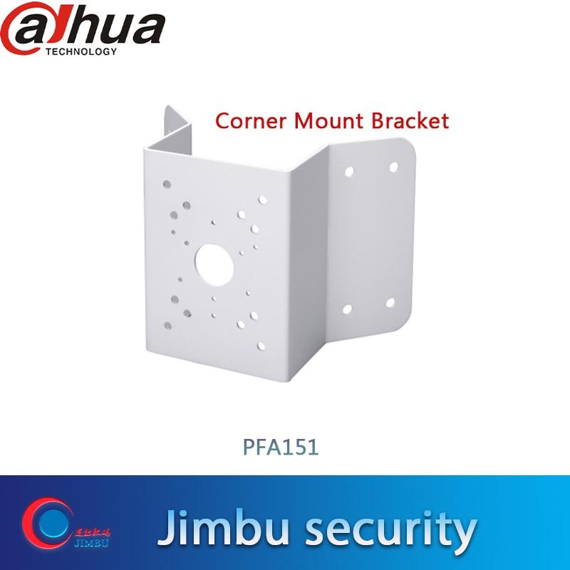 dahua mount Corner Mount Bracket PFA151 Material: SECC Corner Mount Bracket Neat & Integrated design PFA151 title=