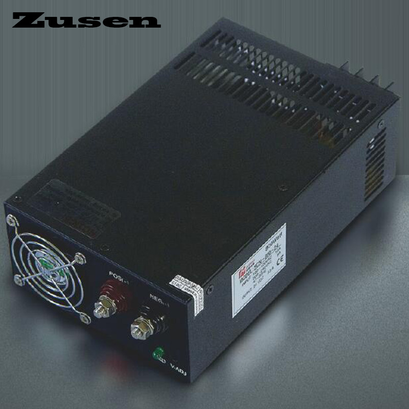 Zusen Single output S-800W 12V 13.5V 15V 24V 36V 48V nice work Switching Power supply image