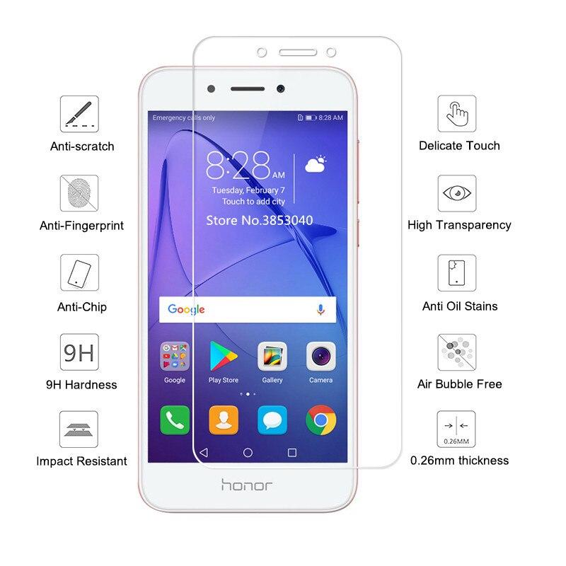 For Tempered Glass Huawei Honor 6A 6 A DLI AL10 DLI TL20 Screen Protector For Huawei Honor A6 DLI AL10 TL20 Glass Film in Phone Screen Protectors from Cellphones Telecommunications