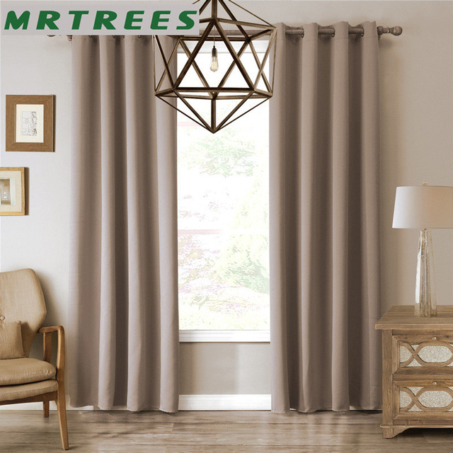 Modern blackout curtains for living room bedroom window curtains ...