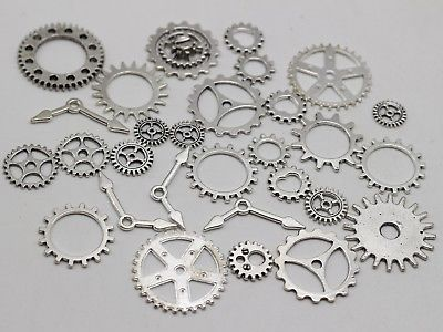 Pendant Charms For Jewelry Making Antique Steampunk Wheel Gear Aoyoho 100 Gram By Scientific Process Art Supplies