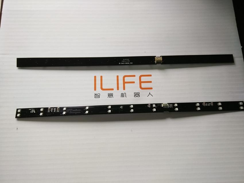 for Original ILIFE V7 V7s V7s IR Light Bar sensor replacement for ILIFE V7S Pro V7 V7S Robot vacuum cleaner accessories parts new original ilife v7 v7s v7s ir light bar sensor replacement for ilife v7s pro v7 v7s robot vacuum cleaner accessories parts