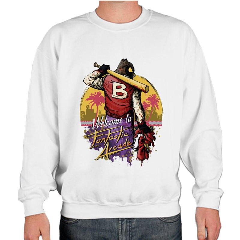 new photos b0aff ab81d US $11.84 32% di SCONTO|Hotline miami Mens Felpe Felpe con cappuccio felpa  Stampata Hip Hop Con Cappuccio Giacca Nera Uomini Vestiti di Moda Con ...