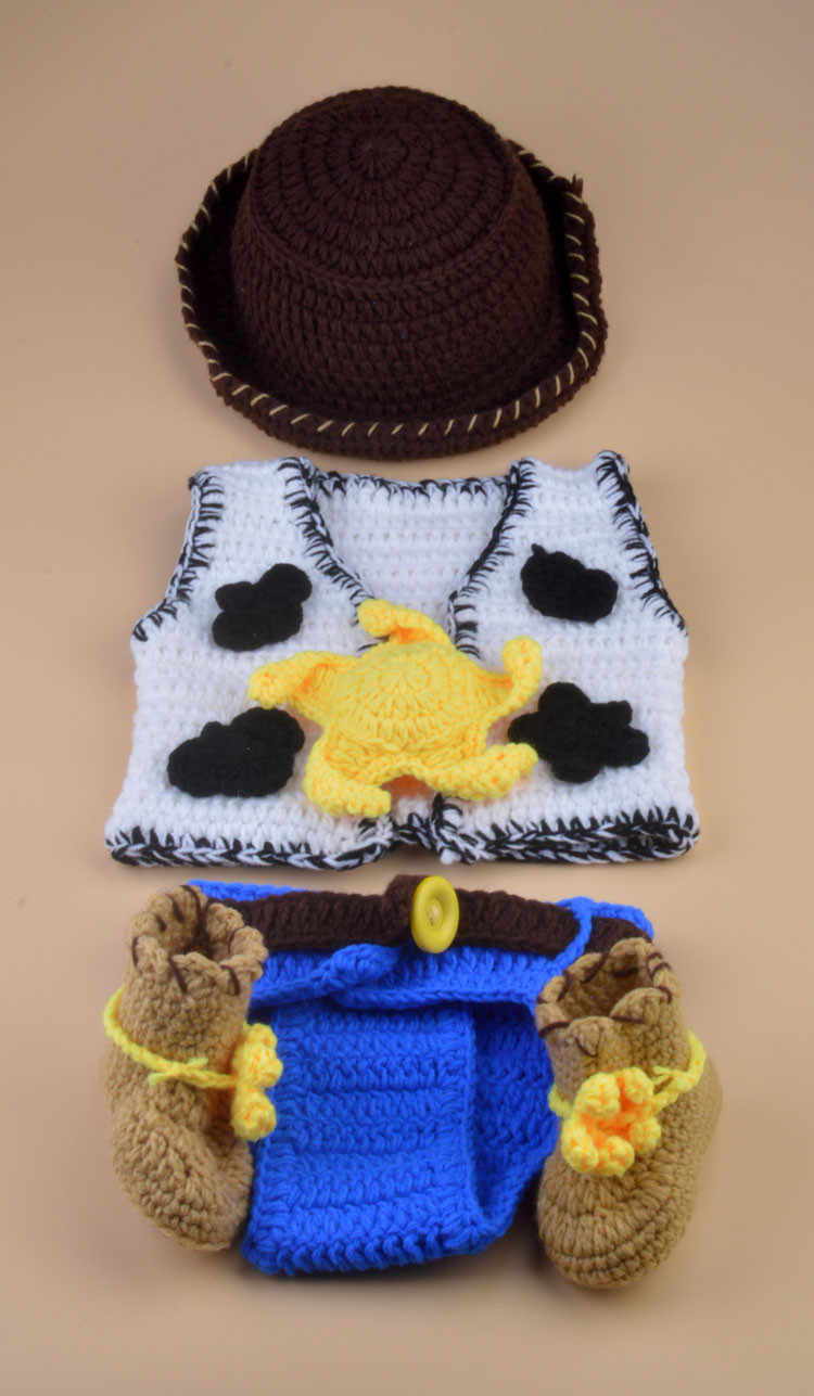 Detail Feedback Questions About Moeble Latest Crochet Baby Cowboy