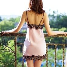Nightgowns Sexy Mini Women Pijamas