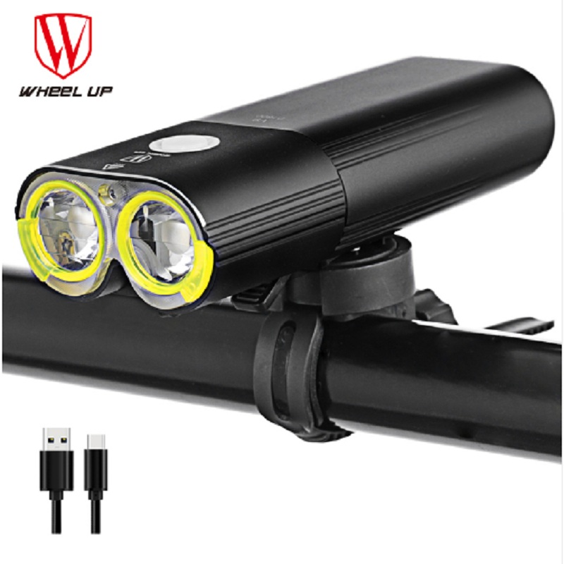 Bicycle lamp Front Light Accessories Waterproof Rechargeable Cycling Riding Flashlight Bike Headlight MTB Bicycle Flashlight smart bike bell with headlights waterproof bike light rechargeable riding cycling led light new air horn bicycle accessories