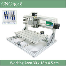 CNC 3018 Standard With Optional Laser of 500mw  2500nw 5500 mw laser CNC engraving machine for Pcb Scribing Milling wood router