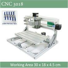 CNC 3018 Standard Avec En Option Laser de 500 mw 2500nw 5500 mw laser CNC machine de gravure pour Pcb Traçage Fraisage bois routeur