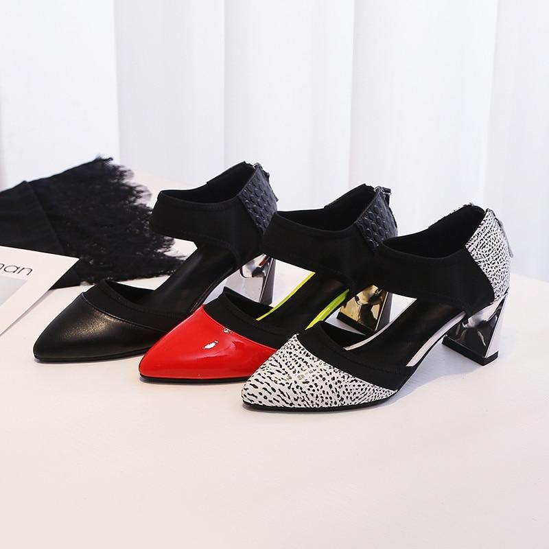 مختلط الكعب أحذية Asumer 8