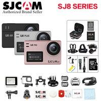 128 г SJCAM SJ8 воздуха и SJ8 Plus и SJ8 Pro 1290 P 4 К 60fps WI FI удаленного Управление действие камера 8X цифровой зум Водонепроницаемый DV Cam