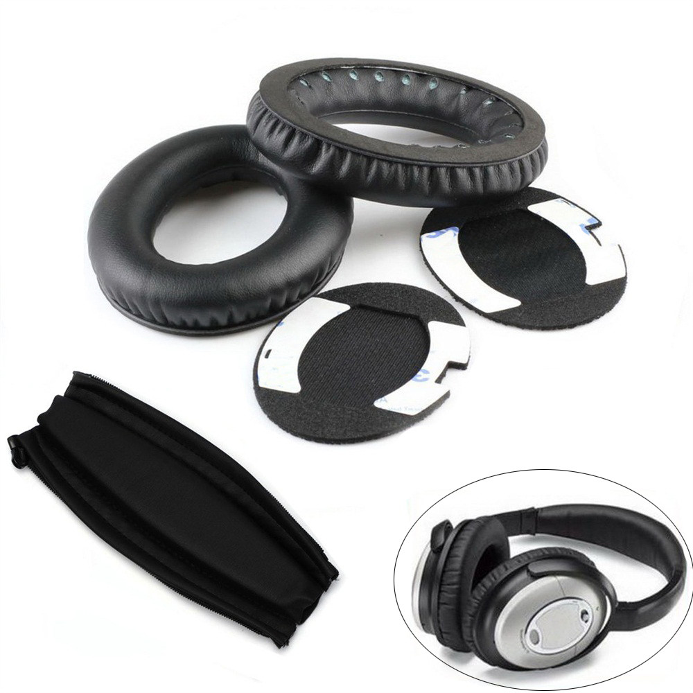 Replacement Cushions Ear Pads Headband for BOSE QuietComfort QC2 QC15 QC25