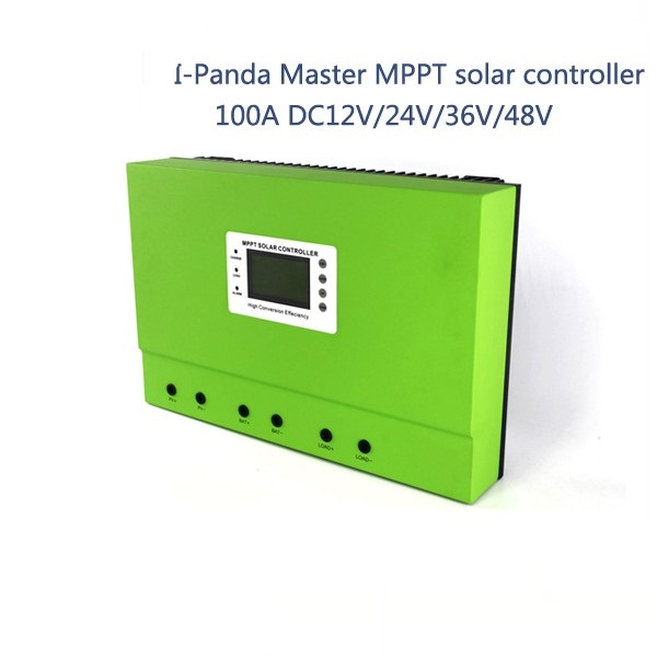 купить LCD display mppt solar charge controller 100A 12V 24V 36V 48V AUTO PV regulator charge Solar Battery with Rs232 Lan 5KW system по цене 28545.09 рублей