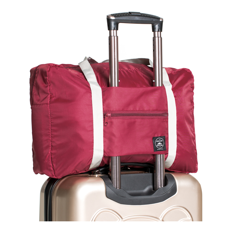Bolsa Ligera Impermeable Plegable Bolsa de Fin de Semana Bolsa Deporte con Compartimento para Zapatos para Hombres y Mujeres Vogshow Bolsa de Viaje Plegable Grande de 80 l