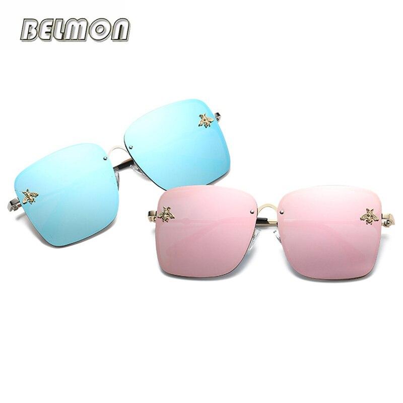 Belmon Fashion Sunglasses Women Brand Designer Sun Glasses For Ladies Eyewear UV400 Mirror Lens Female Gafa Oculos de sol RS586