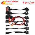 Car Cable Diagnostic Interface For CDP VCI OBD2 Cables Full Set Of 8pcs Car Cables For TCS CDP Pro Plus diagnostic connector