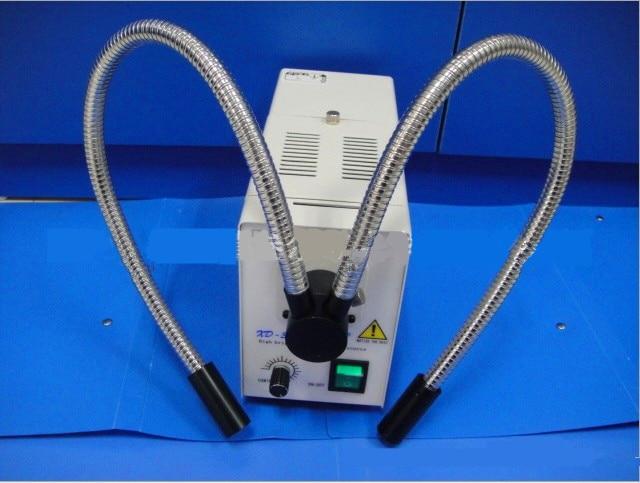 Microscopio fonte di luce fredda sorgente luminosa sorgente di luce luminosità regolabile strumento di diagnostica luce bianca calda Attraverso Il foro di 9 millimetri - 4