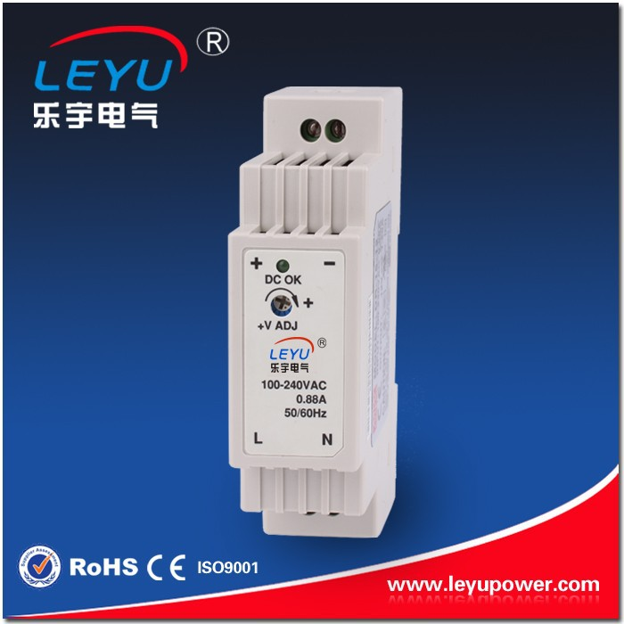 CE factory direct sale low price high quality 15w 15v 1a din rail power supply used in feed system made in china
