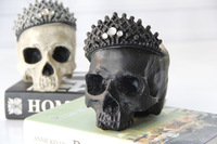 Statues Africa Home Decor Skull For Decoration Resin Human Animal Skull Skeleton Abstract Sculptures Carving Statues Sculptures