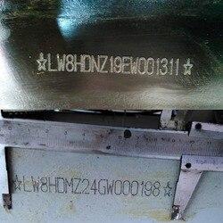 A Matrice di punti del Metallo Macchina Per Marcatura Vin Numero di Macchina di Marcatura Pneumatica Portatile Numero di Telaio Forare Macchina