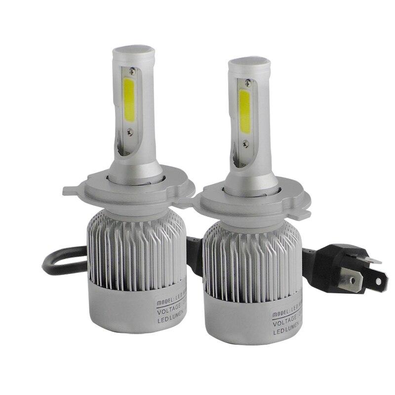 H4 H7 LED Faros HB2 9003 HB1 9004 HB5 HB3 HB4 9005 9006 9007 9008 H27 880 881 H1