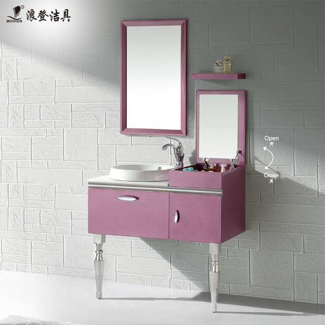 Gordon Lang Stainless Steel Bathroom Cabinet Bathroom Floor Cabinet  Combination Washbasin Cabinet Bathroom Vanity Cabinet LD2114