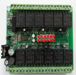 Image 5 - Модуль вывода переключателя, 12 релейных выходов, изоляционный тип, MODBUS RTU RS485 связи