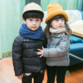Thickening Children's Winter Jacket Casual Down Jacket For Girls Single Breasted Boys Winter Jacket Coats Solid Outerwear