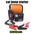Car Jump Starter 12000 mAh Emergency Start with pump 12V Engine Multi-Function  Power Bank Battery Charger Free shipping