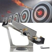 Hot Sale Adjustable Silver Archery Arrow Feather Tool Fletching DIY Jig Stick Fletching Bonding Arrow Shooting
