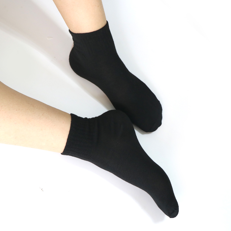 1Pair Ladies Black   Socks   Women's Long   Socks   White Girls For 4 Season Women Art   Socks   Female Chaussette Cotton Blends Warm   Sock