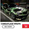 5 10 15 20 25 30m Camo Sticker Bomb Vinyl Wrap Black Green Snow Camouflage Vinyl
