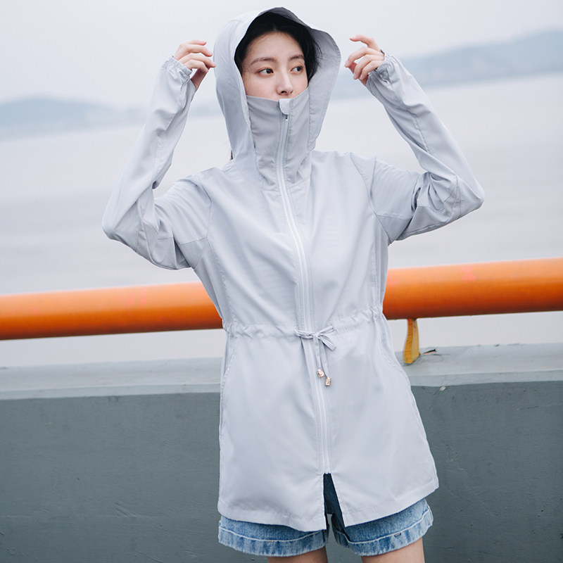 2018 New Cogit Thin UV protection Jacket Long Sleeve Straight Sun Protection Clothing for Girl Women