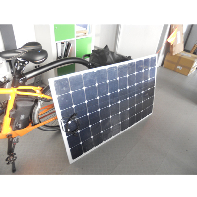 factory directly sale flexible solar panel 200Watts, rechargeable battery for 24V battery solar power supply, every convenient