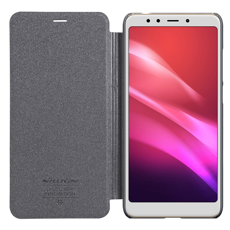 case for Xiaomi Redmi Note 5 note5 Pro case cover NILLKIN sparkle PU leather flip cover for redmi note 5 phone bag