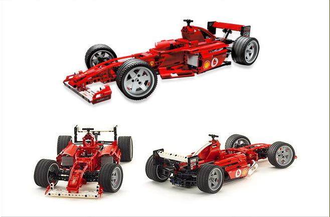 все цены на SAINTGI F1 Formula Car Assembled Brick Educational ABS DIY Furious 726pcs 1:10 470mm/18.5in Building Blocks 3334 3335 Toys онлайн