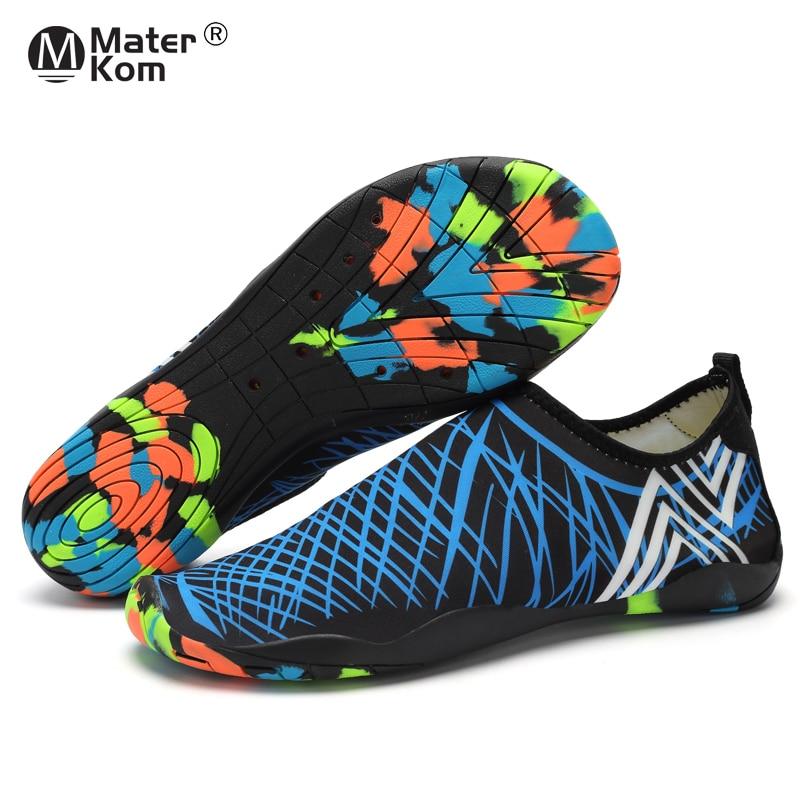 Size 35 47 Men Women Beach Water Shoes Schuhe Outdoor Yoga Swimming Quick Drying Aqua Shoe