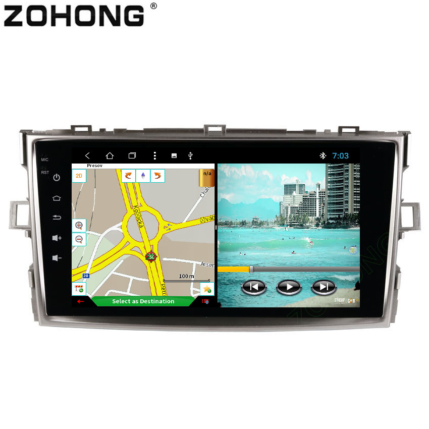 8inch Android 8 1 Octa 8 Core RAM 2G ROM 32G for Toyota Verso EZ E
