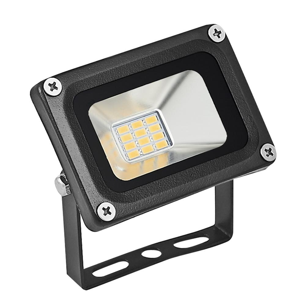 1PC 12V 10W LED Floodlights Spotlight Led Waterproof IP65  LED Flood Light Garden Street Landscape Outdoor Warmwhite Floodlight