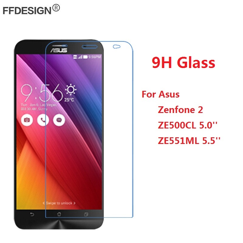 Protective <font><b>Glass</b></font> For <font><b>Asus</b></font> <font><b>Zenfone</b></font> <font><b>2</b></font> <font><b>ZE500CL</b></font> ZE551ML Tempered <font><b>Glass</b></font> On <font><b>Zenfone</b></font> <font><b>2</b></font> 5'' 5.5'' ZE551ML <font><b>Screen</b></font> Protector Film Foil image