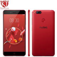 KT Новый для ZTE Nubia Z17 Mini 4G мобильный телефон 4G B/6 ГБ Оперативная память 64G ROM 5,2 дюймов 1920 * 1080px спереди 16.0MP двойной сзади 13.0MP сканер отпечатков пальцев NFC