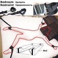 Fuzzy onder bed Sex bondage been gordels bandjes Handboeien Enkel manchet set Adult Fetish Game Speelgoed kit voor mannen vrouwen paar