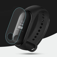 3Pcs Anti-scratch Soft TPU Protective Film For Xiaomi Mi Band 3 Smart Watch Full Screen Protector Cover For Xiaomi Band 3(China)