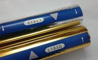 Hot Foil Stamping Rolls Silver Or Gold Color For Leather 2 Rolls 64cmx120m Roll